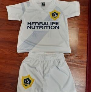 Los Ángeles Galaxy set uniform Chicharito